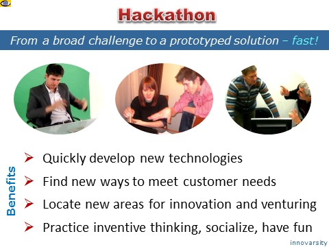 Hackathon benefits