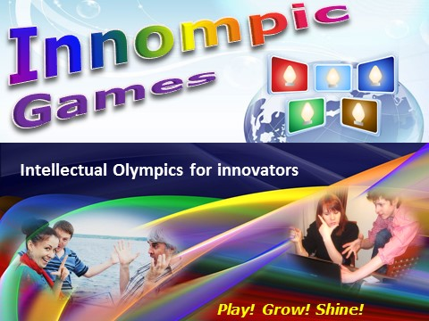 Innompic Games - intellectual Olympics for innovators, internet Innompics