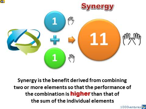 Synergy innovation formulae 1+1=11